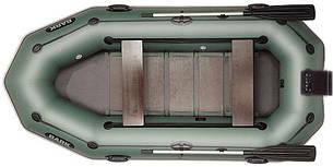 Лодка BARK B-300NPD, Трёхместная ПВХ Барк Реечный коврик Навесной транец Привальный брус Передвижные сиденья, фото 2