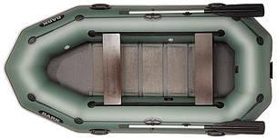 Лодка BARK B-300PD, Трёхместная Надувная ПВХ Барк Б-300ПД Реечный коврик Привальный брус Передвижные сиденья, фото 2
