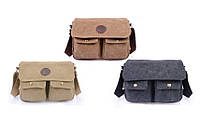 Прочная мужская тканевая сумка