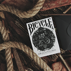 Карты игральные | Bicycle Dragonlord White Edition Playing Cards (Includes 5 Gaff Cards)