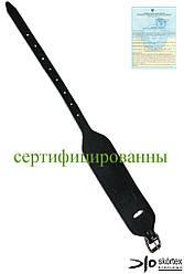 Напульсник кожаный черный SKÓRTEX Польша (защита запястья) NS-S1 B