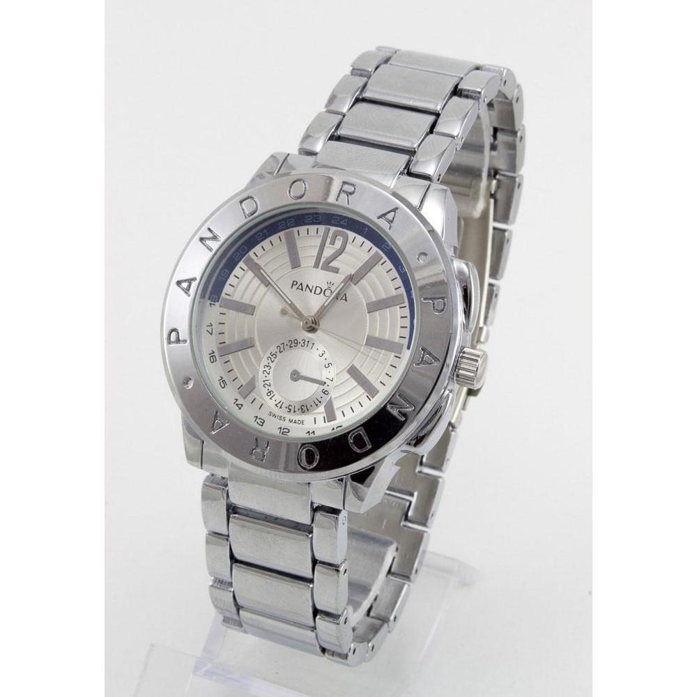 Мужские часы Pandora Blue Arc серебристые