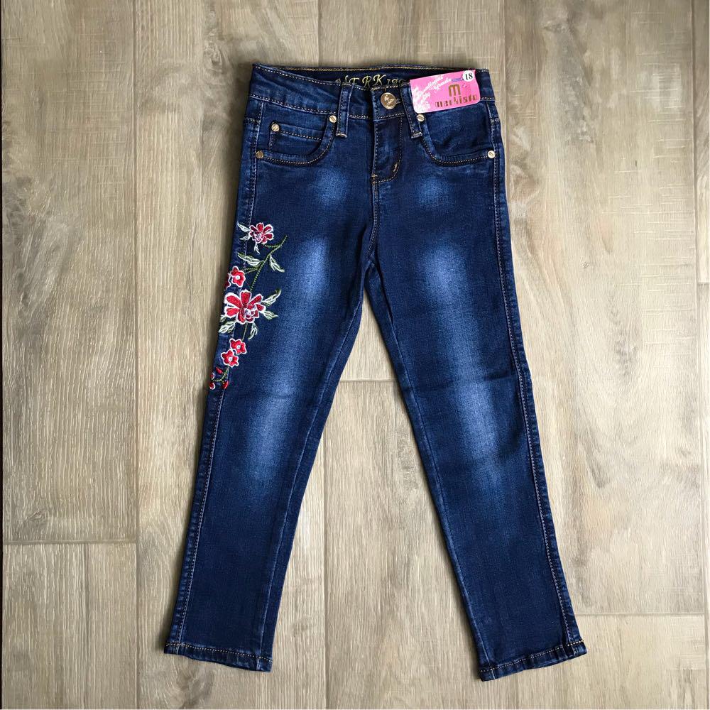 3bfb479d3 Джинсы для девочки с вышивкой. - Интернет-магазин детской одежды
