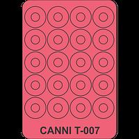Трафарет для лунного маникюра CANNI - 007