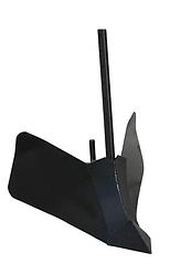 Окучник для мотоблока универсальный (с пяткой и увеличенным крылом)