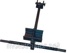 Крепление граблей к мотоблоку воздушного охлаждения