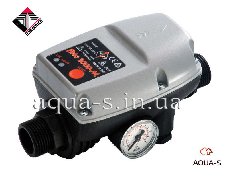 Электронный контроллер давления BRIO 2000-MТ(контроль потока и давления воды) Italtecnica - AQUA-S Европейские Инженерные Системы  в Днепре