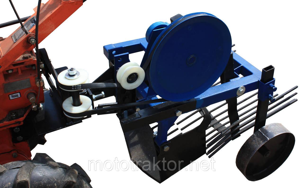 Картоплекопачка вібраційна для мотоблоків з повітряним охолодженням