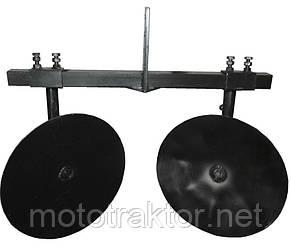 Окучник дисковый для мотоблока (диаметр 450)