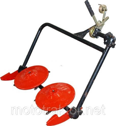 Косилка роторная к мотоблоку КР-01А (ременной привод)