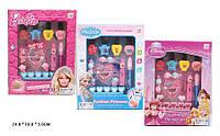 """Детский набор косметики """"Frozen/Disney/Barbie"""" для девочек с лаками и тенями."""