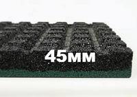 Резиновая плитка Eco Standard, 500*500*45 мм