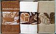 Набір кухонних махрових рушників 30*50 см Vianna 3 шт.,Туреччина 508, фото 4