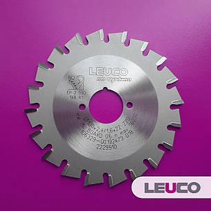 100x2,4x1,6x22 z=20 Торцевые дисковые пилы Leuco nn-System для обработки кромок (Hebrock), фото 2