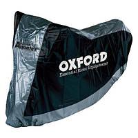 Моточехол Oxford Aquatex Black/Silver, XLarge
