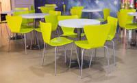 Комплект для кафе 4 стула Левис