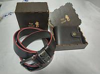 Подарочный набор для мужчин Bag-of-Dream BD02.01 (кошелек,ремень)