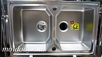 Мойка кухонная из нержавеющей стали Тека EXPRESSION 80B микродекор , фото 1
