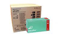 Перчатки нитриловые NITRYLEX GREEN 10 УП.