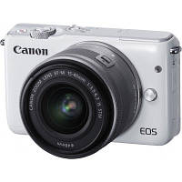 Цифровой фотоаппарат Canon EOS M10 15-45 IS STM White Kit (0922C040)