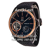 Наручные часы Tag Heuer Grand Carrera Pendulum Black-Gold-Black