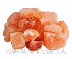 Камни из гималайской соли (50-80мм) 1кг для бани и сауны