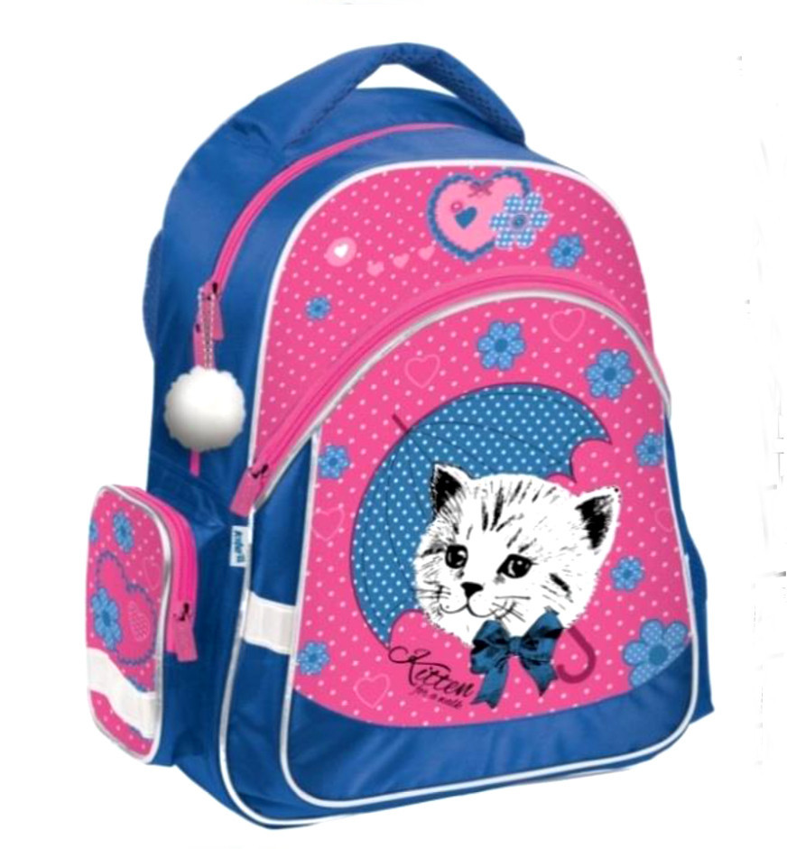 Школьный рюкзак Kite Pretty Kitten K18-521S-2
