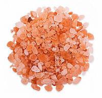 Крошка из гималайской соли (2-5 мм) 1 кг для бани и сауны