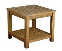Столик тиковый для шезлонга 50х50 см