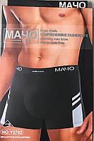 Мужские трусы-боксеры Мачо L-ХL  размеры, бамбук, фото 1