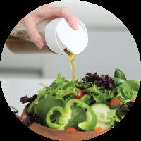 Универсальный блендер для приготовления заправки к салату Whiskware Dressing  от компании BlenderBottle