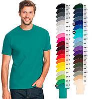Футболки мужские SOL'S REGENT Франция 40 цветов 100% полугребной Ringspun хлопок легкие - 150 г/м2, фото 1