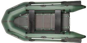 Лодка BARK BT-290D Двухместная Надувная Моторная ПВХ Резиновая Барк БТ-290Д Реечный коврик Передвижные сиденья, фото 2