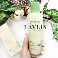Эмульсия для лица увлажняющая с экстрактом зелёного чая It's Skin Green Tea Watery Emulsion