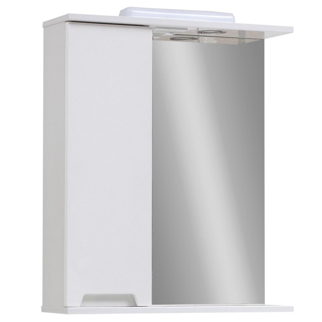 Зеркало для ванной комнаты Марко Z-1 55 левое Юввис