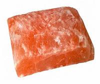 Гималайская соль Кирпич Рваный камень (20/20/5 см) для бани и сауны