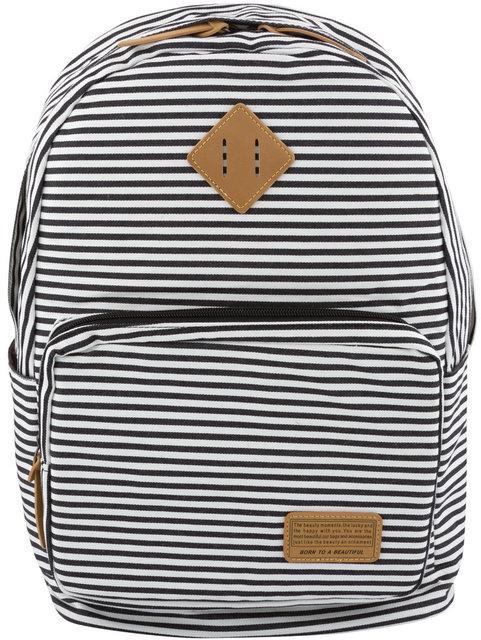 Молодежный рюкзак в полоску Winner marinero