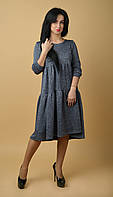 """Суперсвободное нарядное молодежное платье """"205"""" Размеры 44-46."""