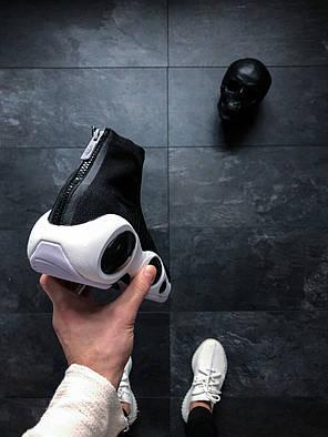 Кроссовки Nike Flight Bonafide Black черные топ реплика, фото 2