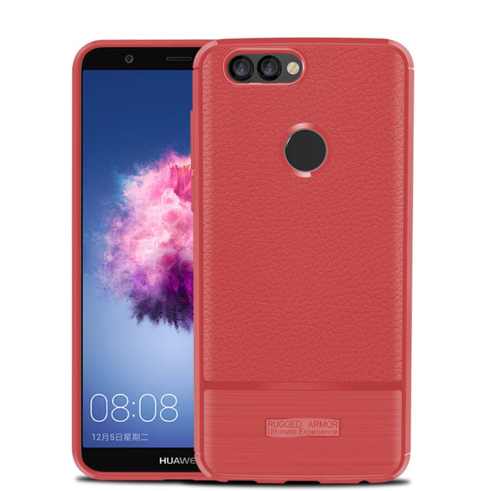 Чохол накладка для Huawei P Smart | Enjoy 7S силіконовий, Armor, червоний