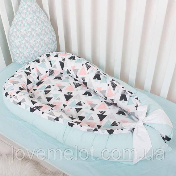 Кокон кроватка для новорожденных 3