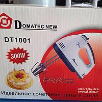 Миксер Domotec DT1001, 300W