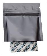 Пакет Саше 60х80 ЧЕРНЫЙ  (открытый низ) zip-замок