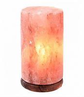 Светильник из гималайской соли Цилиндр для бани и сауны
