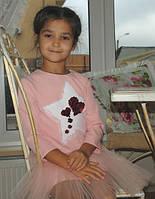 Платье оригинальное для девочки, фото 1