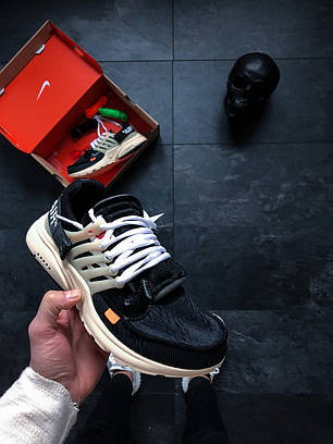 Мужские кроссовки Nike x Off-White Air Presto топ реплика, фото 2