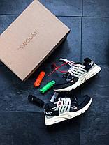 Мужские кроссовки Nike x Off-White Air Presto топ реплика, фото 3