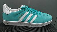 Кеды Adidas Gazelle бирюза, фото 1
