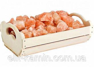 Ящик 10 кг из гималайской соли для бани и сауны
