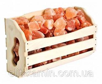 Полиця 10 кг з гімалайської солі для лазні та сауни